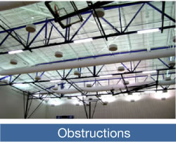 aircage facility info obstructions