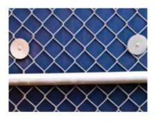 wall padding fence washers
