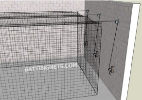 7//8 Nylon Swivel Pulley Batting Cage//Cable System//Pulley System