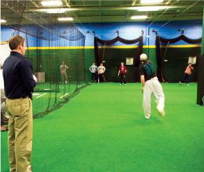 CurtainCage Indoor Batting Cage