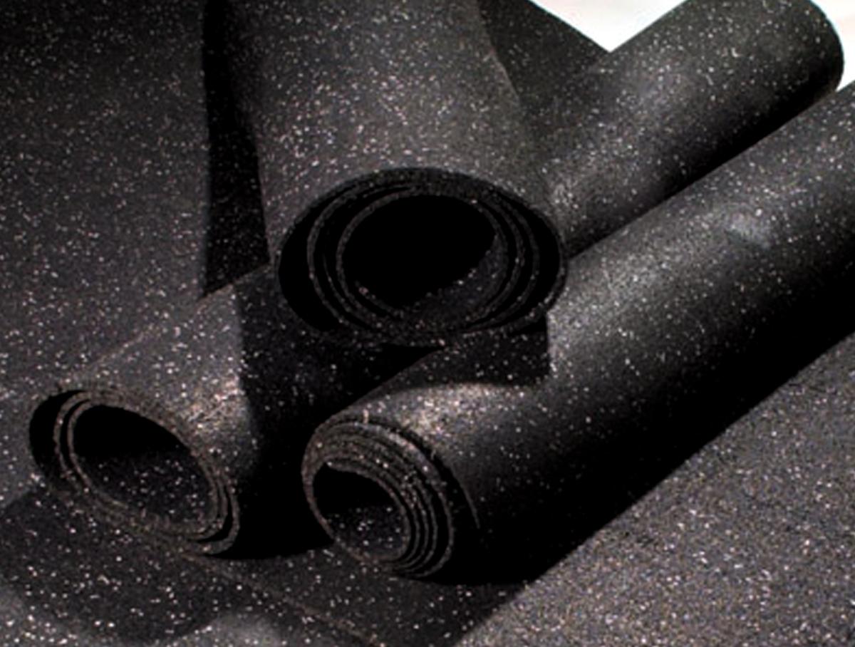 Rubber Flooring Roll 50 L X 4 W 1