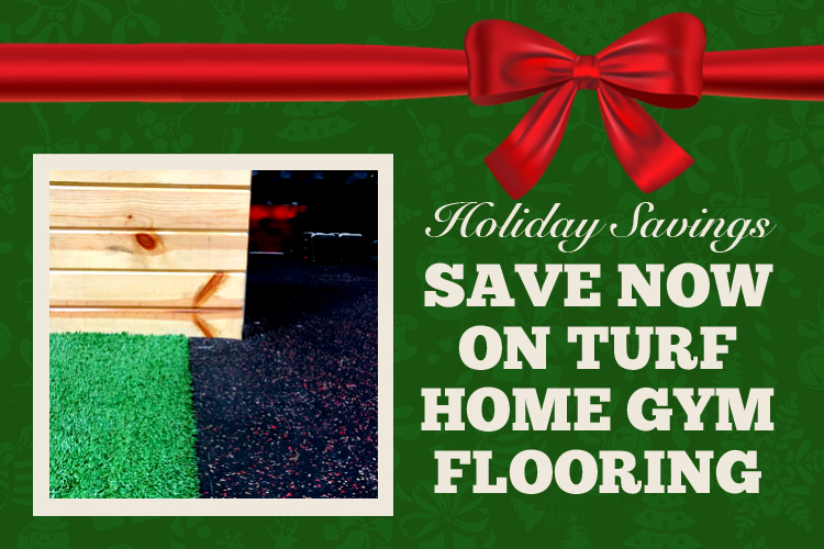 turf home gym flooring