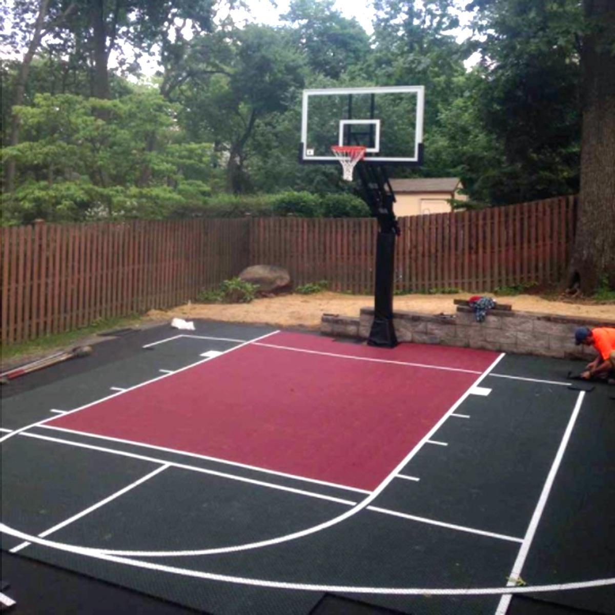 Backyard Basketball Courts